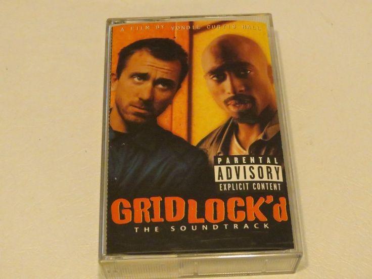 Gridlock'd PA soundtrack 2Pak Snoop Dogg Wanted Dead Cassette tape RARE
