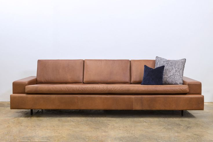 Modern sleek lines of the Base Sofa handcrafted in WA