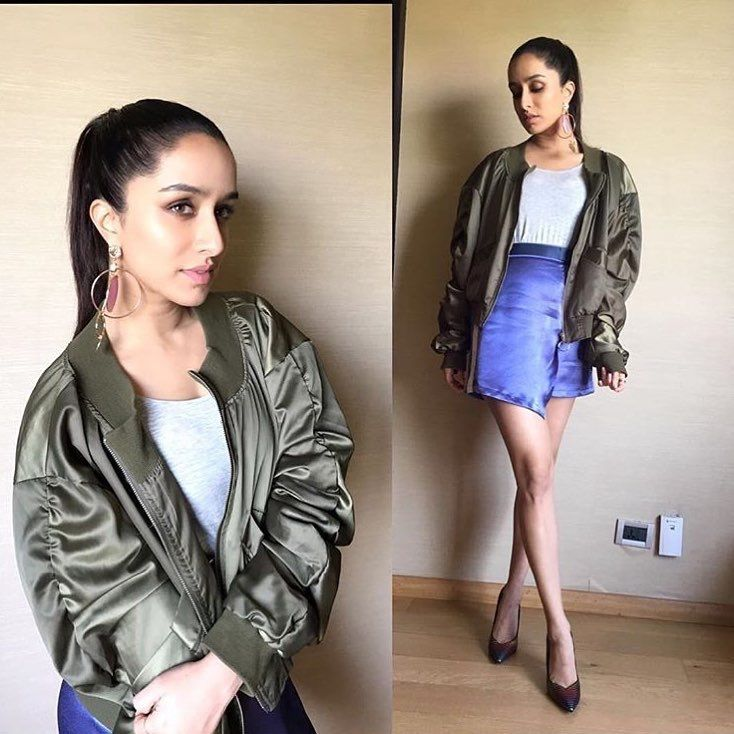 Shraddha Kapoor's OOTD for the promotions of her upcoming 'Haseena Parker'