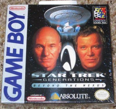 Star Trek Generations Beyond the Nexus - NEW FACTORY SEALED - Nintendo Game Boy