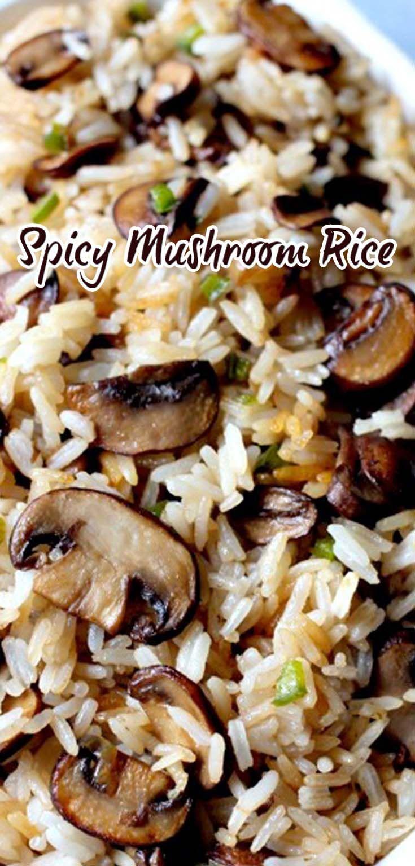 Spicy Mushroom Rice                                                                                                                                                                                 More