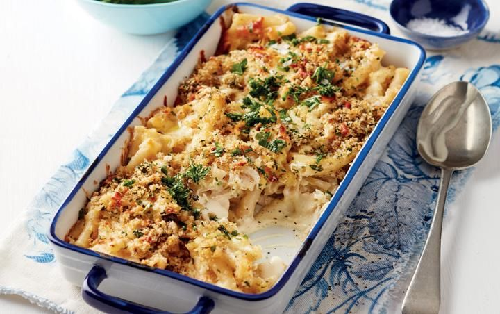 Chicken mac 'n cheese
