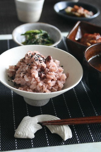 Red Bean Rice, Traditional Japanese Dish for Celebrations | Sekihan お赤飯