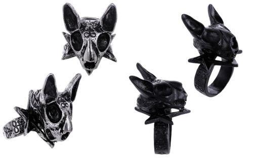 Restyle-Gothic-Ring-3D-Katze-Schaedel-Cat-Skull-Nugoth-Occult-Hexagramm-Steampunk