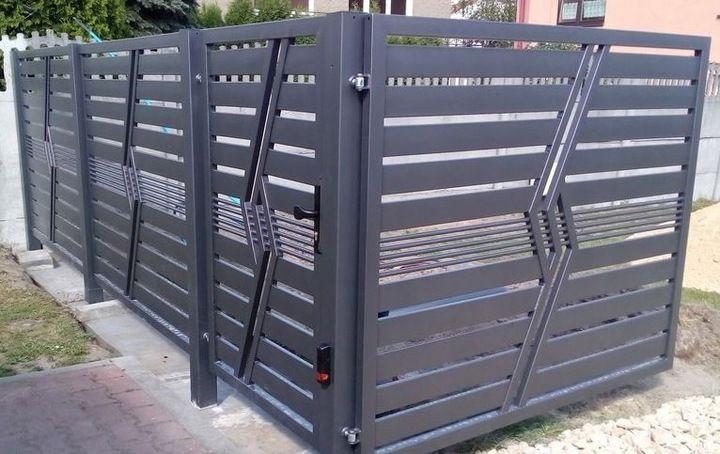 Ogrodzenie Panelowe Plot Brama Palisada Gobe 369 8832799588 Allegro Pl Iron Gate Design Entrance Gates Design Front Gate Design