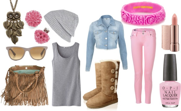 """light pink"" by nicole-beal on Polyvore"