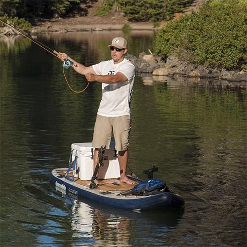 Riverbound Sports - AquaGlide Blackfoot Angler ISUP Fishing Stand Up Paddleboard, $999.00 (http://www.riverboundsports.com/aquaglide-blackfoot-angler-isup-fishing-stand-up-paddleboard/)