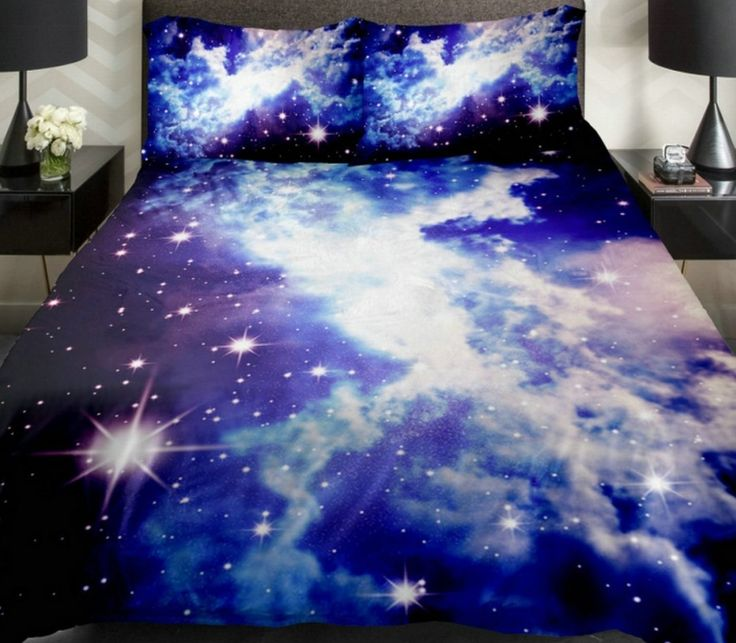 Galaxy Duvet Cover Galaxy Teen Bedding -  Galaxy Duvet Cover Galaxy Teen Bedding Galaxy Sheets Space Sheets Girls Bedding Set Purple Bedding with 2 Matching Throw Pillow Covers for Home Decor (King)    link: