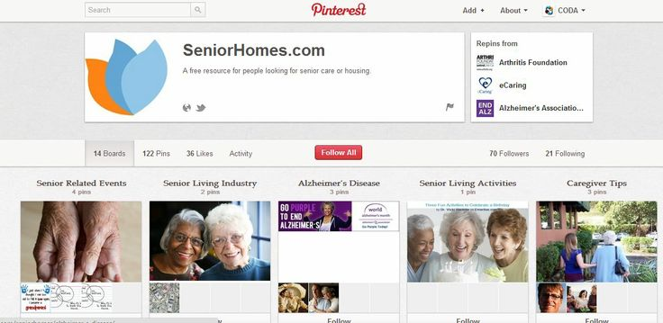Click here for 9 tips to start using Pinterest as a senior living marketing tool.