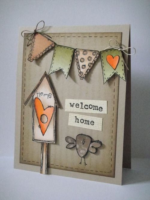 12 Best Welcome Home Cards Images On Pinterest