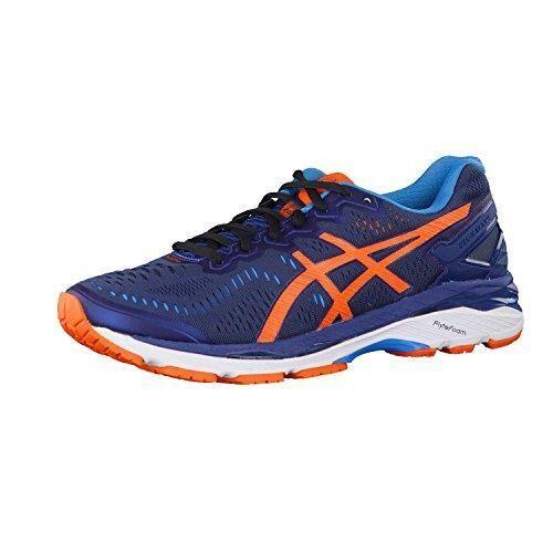 Oferta: 119.37€. Comprar Ofertas de Asics - Gel-Kayano 23, Zapatillas de Running Hombre, Azul (Poseidon/Flame Orange/Blue Jewel), 43.5 EU barato. ¡Mira las ofertas!