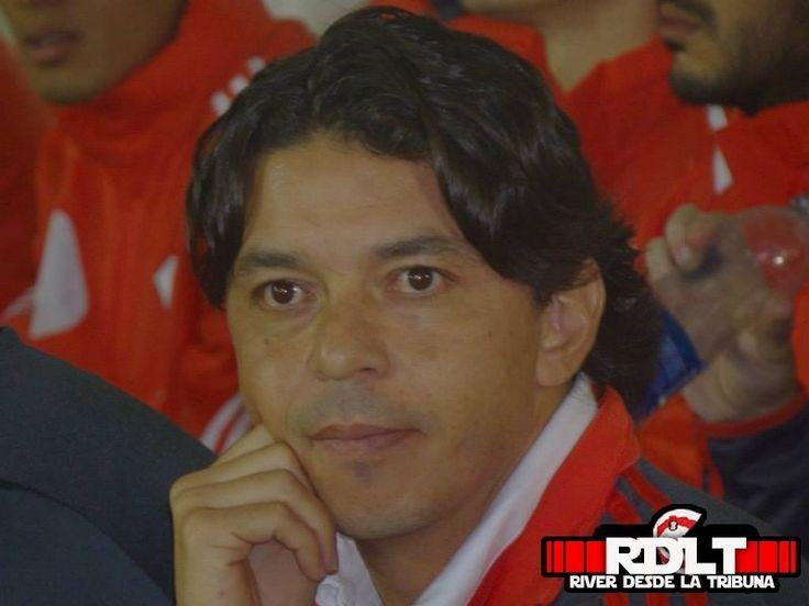Un retrato del actual técnico de River Plate