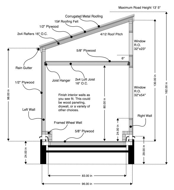 7069b658ab944ce752e322170789cc25 free house plans tiny house plans 324 best images about 8x16 on pinterest sheds, modern tiny house,Small Shed Roof House Plans