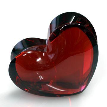 Baccarat zin zin Heart:Ruby Large