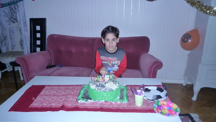 Another my sons birthday at home
