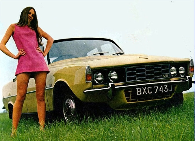 Rover 3500 V8 P6 (1971)