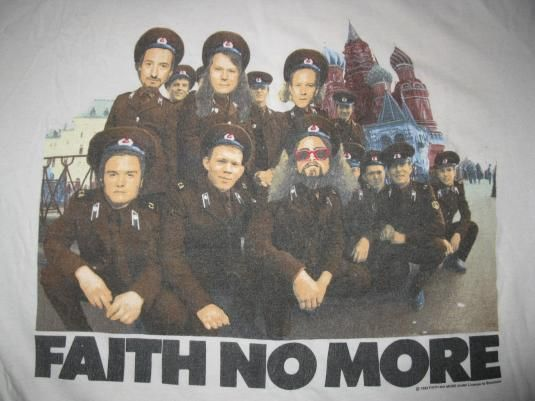 Faith No More  Euro Tour Shirt