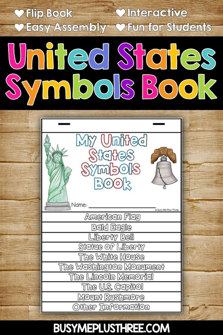 Are you looking for some fun activities for you to do with your first grader  or 2nd grader? These are gre…   United states symbols [ 1104 x 736 Pixel ]