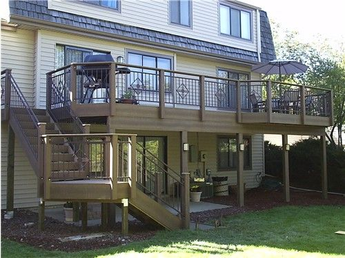 Iron Deck Rails Custom Ornamental Wrought Iron Deck