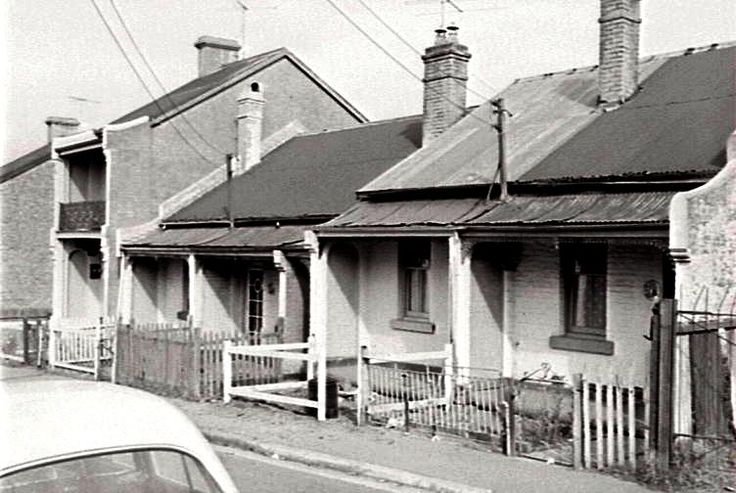Knight Street. Erskineville. 1959