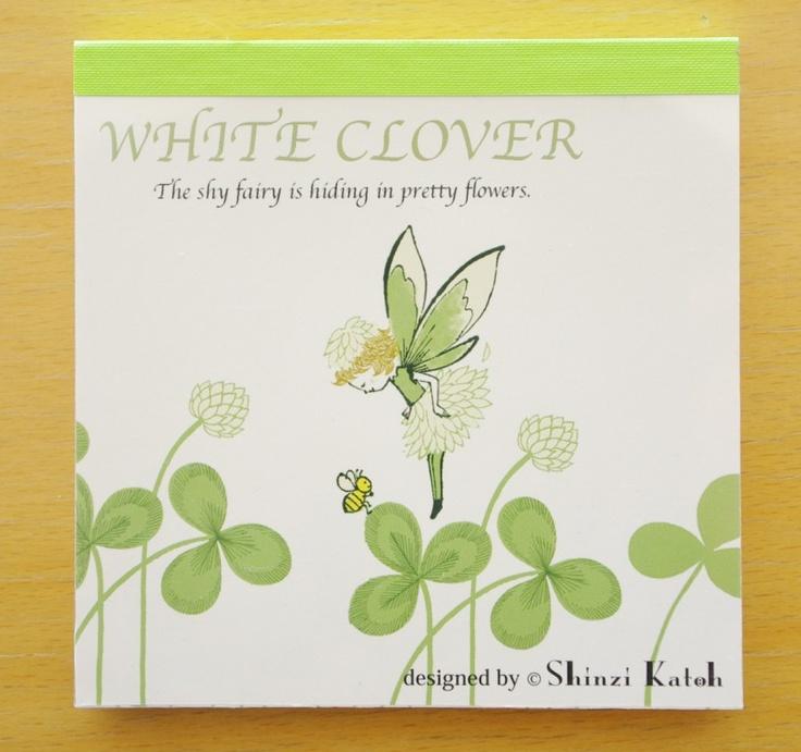 Shinzi Katoh--White CloverKatohwhit Clovers, Shinzi Katoh Whit, Katoh Whit Clovers