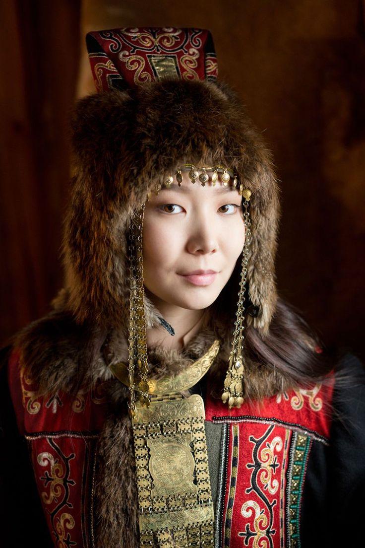 Sakha Young Woman - Photo by Alexander Khimushin- from Yakutia- part of Russian Fed.