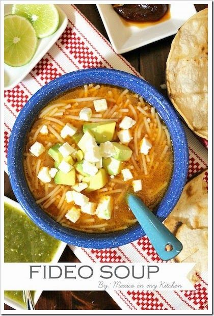 Sopa de Fideos - Mexican Noodle Soup. Step by step pictures to guide you while making this recipe. A traditional Mexican Soup.   #Mexicanrecipes #recetasmexicanas #Mexicoinmykitchen