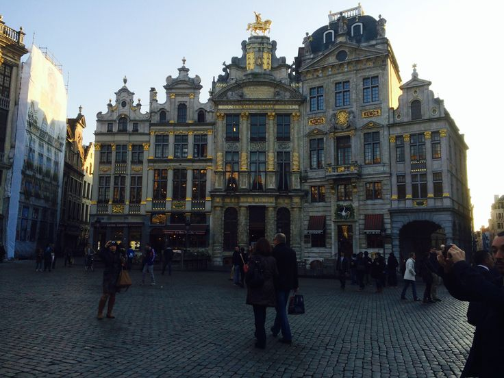 Le Grand-Place Brussels , Belgium