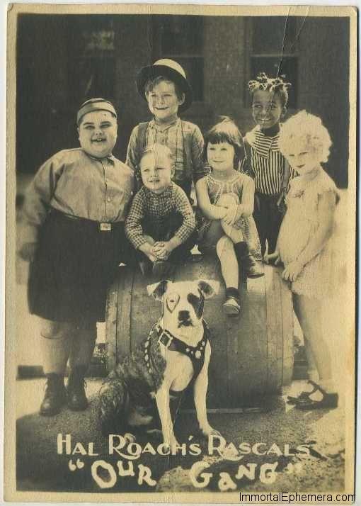 Hal Roach's Our Gang 1920s 5x7 Fan Photo on Immortal Ephemera