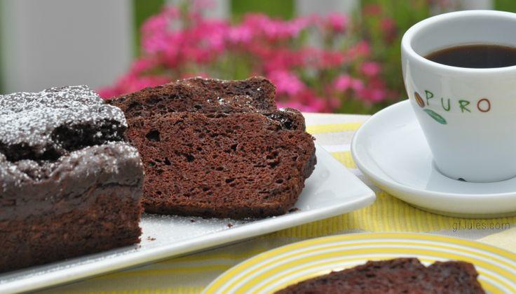 ... Gluten-Free Chocolate Zucchini Bread! #glutenfree #lowfat #vegan