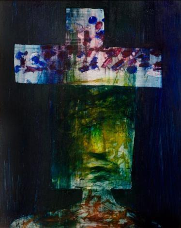 Sidney Nolan ~ Kelly, 1959 (polyvinyl acetate on board)