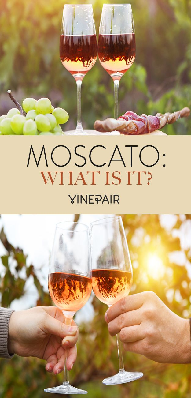 What is Moscato, really?