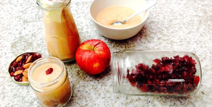 Už nevíte, co dobrého a zároveň zdravého připravit na snídani/ svačinku/ mlsání v průběhu dne  pro sebe či děti?  Právě je sezóna jablíček, banánů, mandarinek a hrušek …což je ovoce, které se nám náramně hodí k přípravě domácí přesnídávky ;)