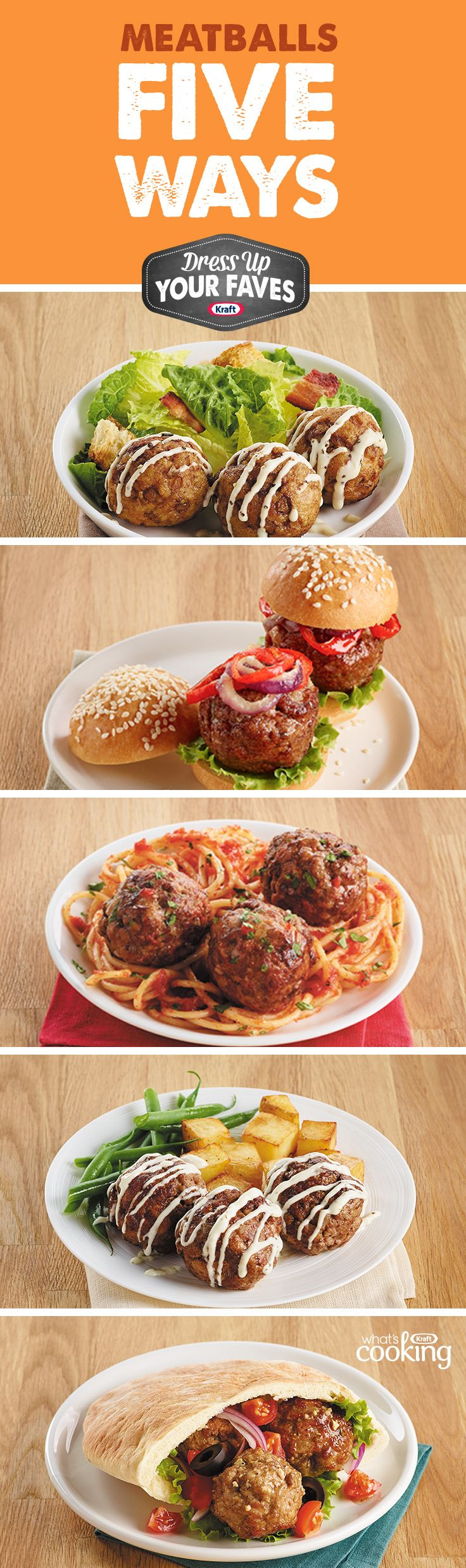 38 best food hacks images on pinterest food hacks easy food get the you need to quickly and easily reinvent meatballs forumfinder Choice Image