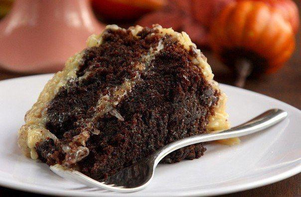 Немецкий шоколадный торт - король праздничного стола! | Четыре вкуса