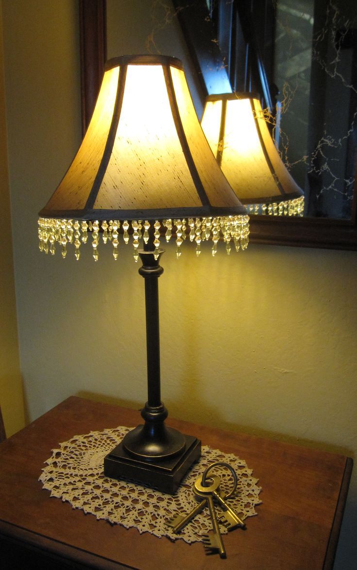 How to do this!  http://twowildflowers.typepad.com/two_wildflowers/Wildflowers, Lamps Shades, Lamp Shades, How To, Ads Beads