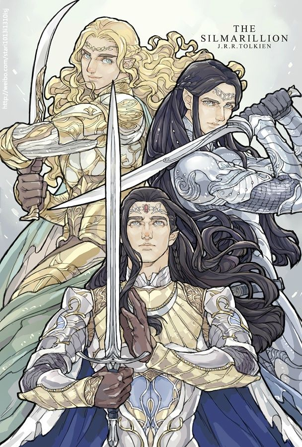 Glorfindel, Ecthelion and Turgon<<<I...I...I...no, I cannot express it. Ecthelion, my darling!