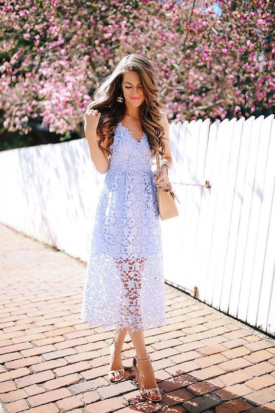 Hochzeit Im Winter Was Anziehen 50 Beste Outfits Sommerhochzeit Outfits Blaues Spitzenkleid Und Kleid Hochzeitsgast