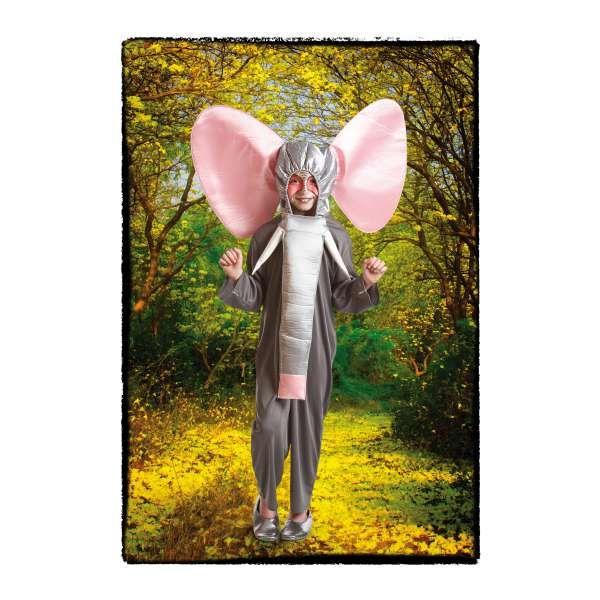 DisfracesMimo, disfraz de elefante gris para infantil varias tallas.tu hijo será el perfecto dumbo con este disfraz de elefante infantil en sus fiestas.Este disfraz es ideal para tus fiestas temáticas de disfraces de animales para niños.