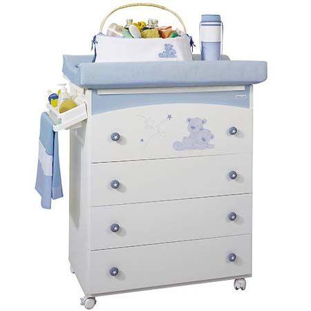 Muebles Cambiadores para Bebes - Para Más Información Ingresa en: http://disenodehabitaciones.com/muebles-cambiadores-para-bebes/