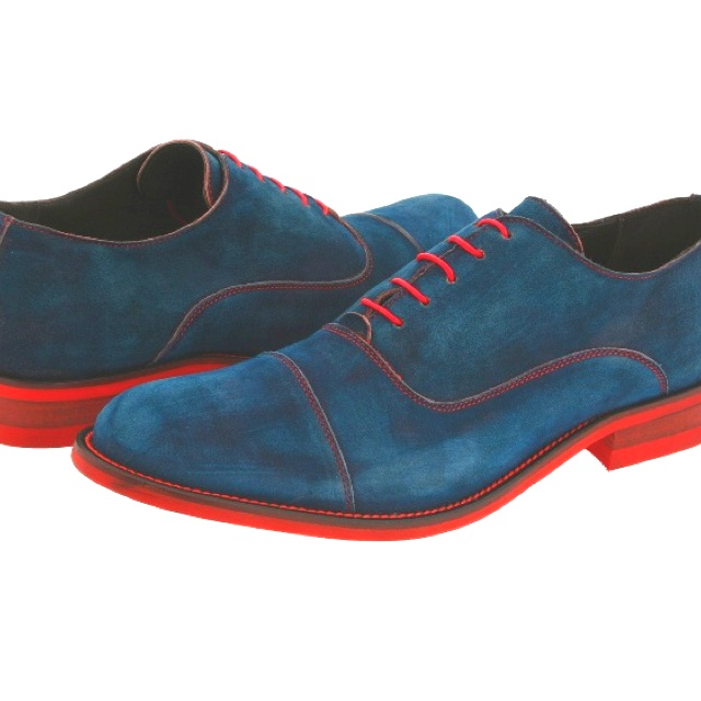 ted baker shoes blue laces red wyandottes mixture