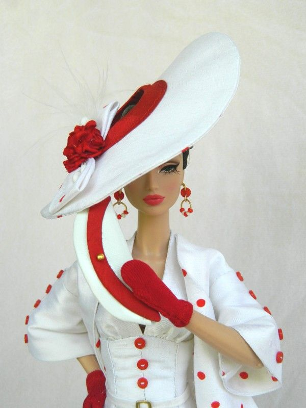 OOAK 1950's Vogue fashion for Silkstone Barbie & Fashion Royalty Dolls By Joby Originals