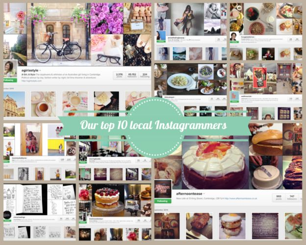 Our top 10 local Instagrammers on the blog