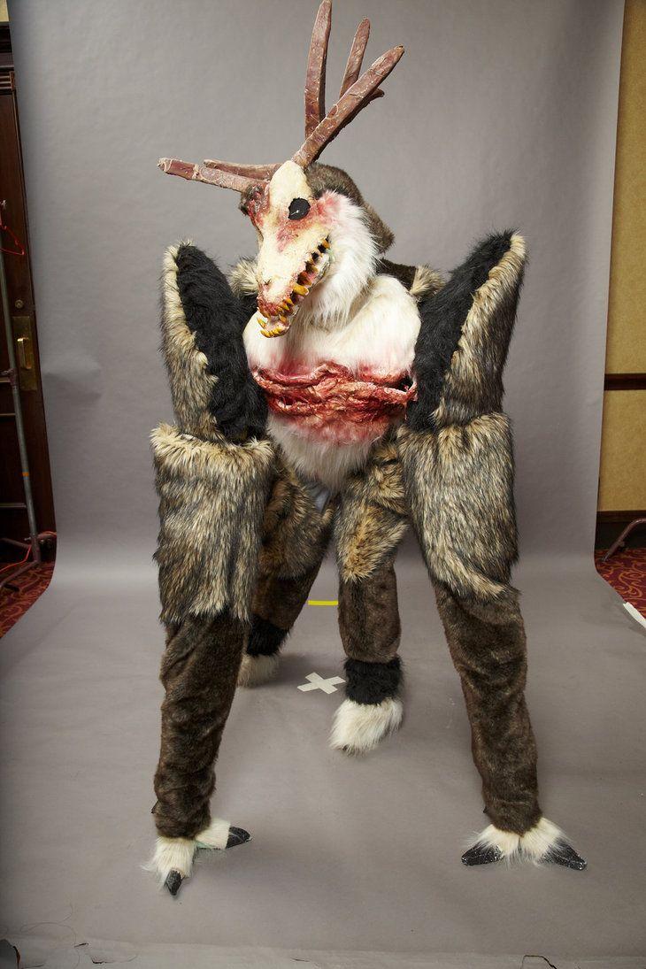 wendigo costume  Google Search  Monster Designs  Pinterest