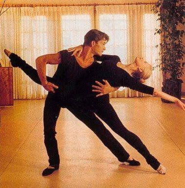 Patrick Swayze and wife Lisa Niemi