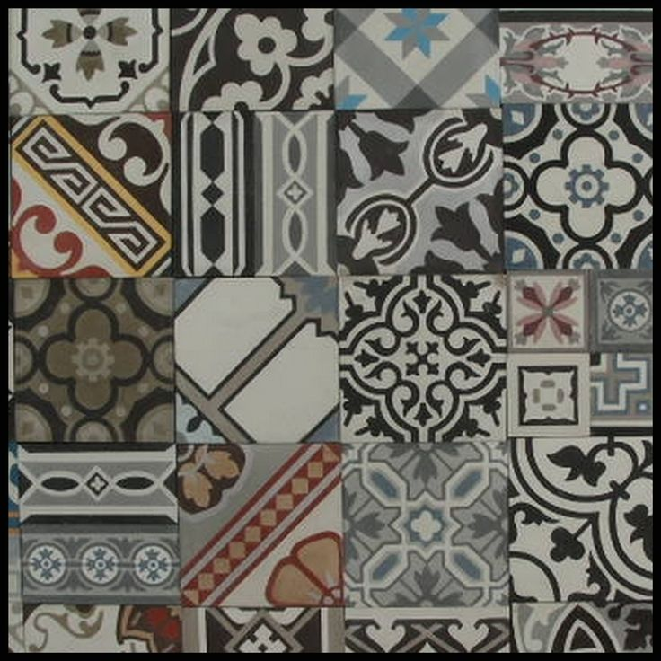 Portugese tegels in huis - patchwork