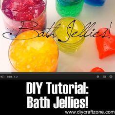 DIY Tutorial: Bath Jellies ►► http://www.diycraftzone.com/diy-tutorial-bath-jellies/?i=p