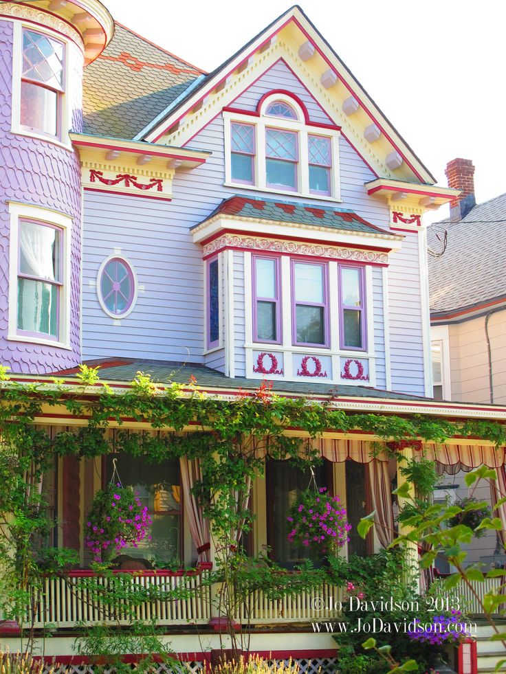 victorian painted lady porch - photo #6