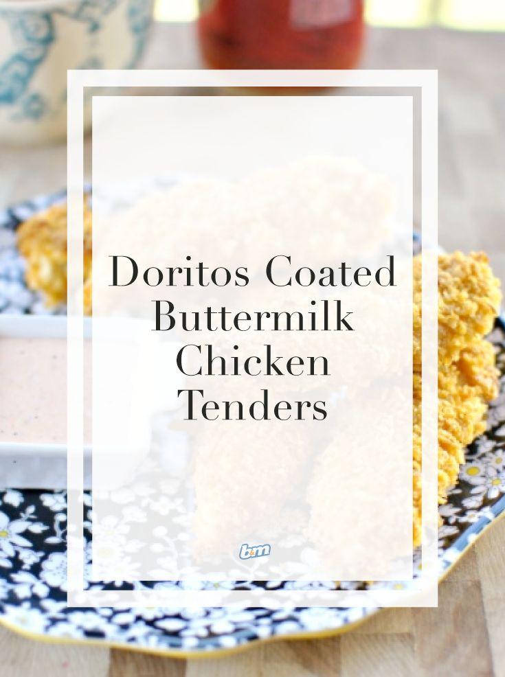 Incredible Crisps Recipes: Doritos-Coated Buttermilk Chicken Tenders