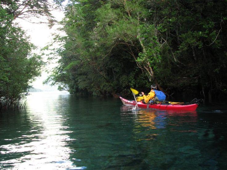 Kayak de Mar Rio Puelo Chile
